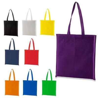 Promotional Ultrasonic Nonwoven Tote Bag Without Side And Bottom For Grocery Advertising Gift And Shopping