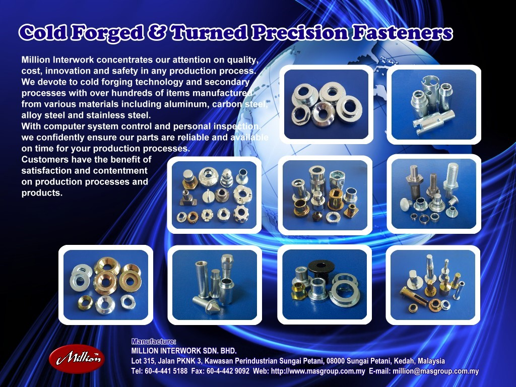 Custom made cold forged Auto parts