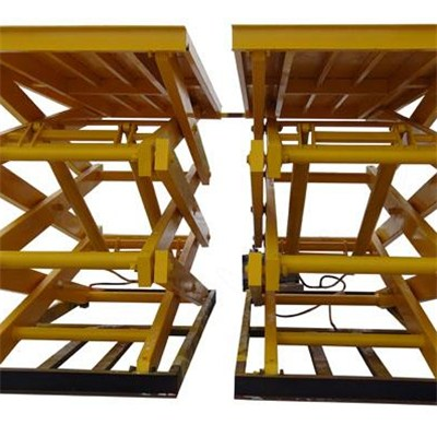 MODEL NO. FSL8-8 Lifting Height 8m First Class Lifting Platform