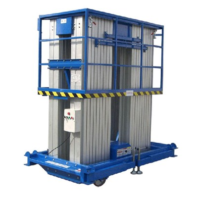 MODEL NO. AL-16 Four Mast Lift Hot Sale Electric Ladder Lift