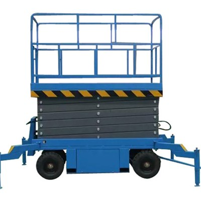 MODEL NO. MSL0.3-12 Working Height 14m Best Scissor Lift For Sale