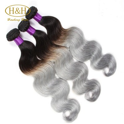 Top Grade Real Virgin Brazilian Ombre Hair