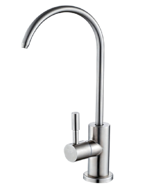 China faucet factory 304 stainless steel water filter faucet  kitchen purifier taps