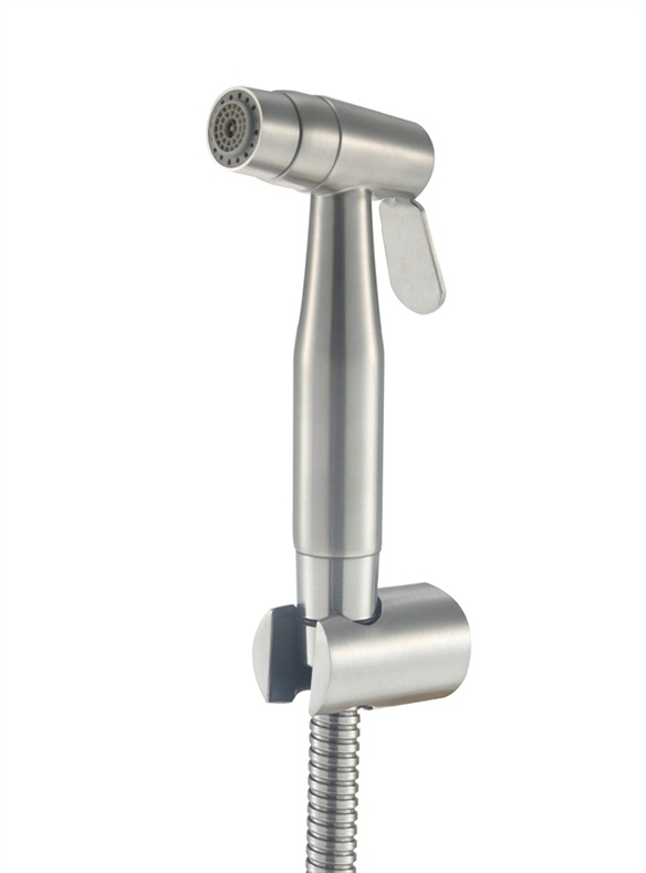 Dural function stainless steel handheld bathroom shattaf  bidet sprayer cloth diaper sprayer