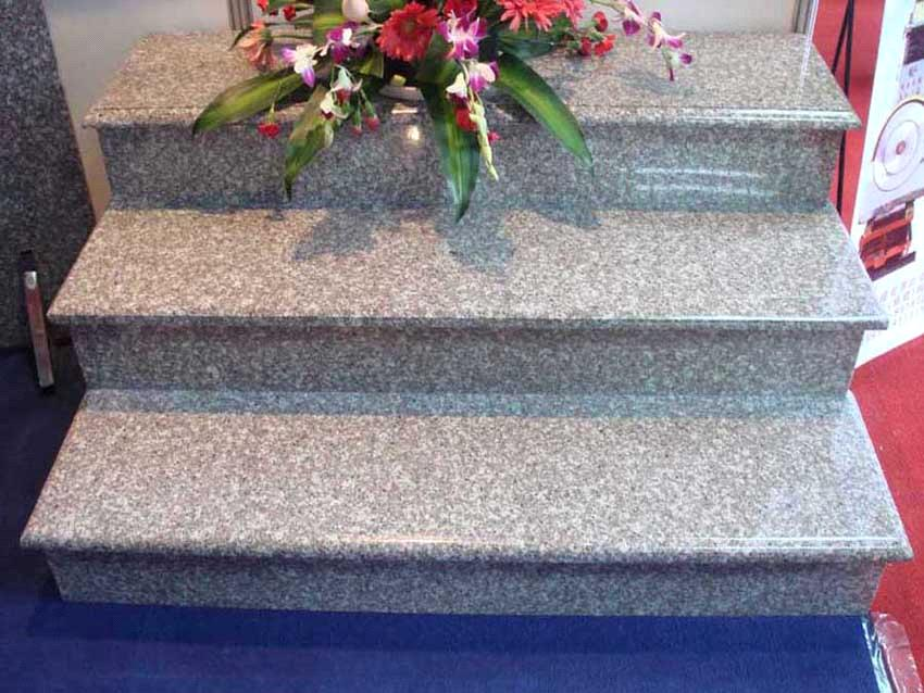 granite stone steps and stairs