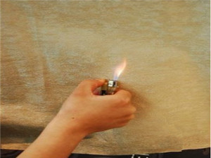 black Flame retardant spunbond non-woven fabric