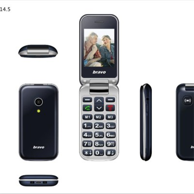 NEW clamshell senior phone launched