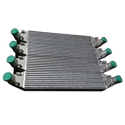 Industrial Air Cooled Auto Intercooler/ Condenser/ Heater/ Evaporator Finned Tube Welded Heat Exchanger