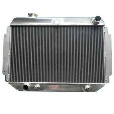 New Type High Performance Aluminum Car Water Radiator With Polished Tanks For Sale Custom Radiators Sizes Design