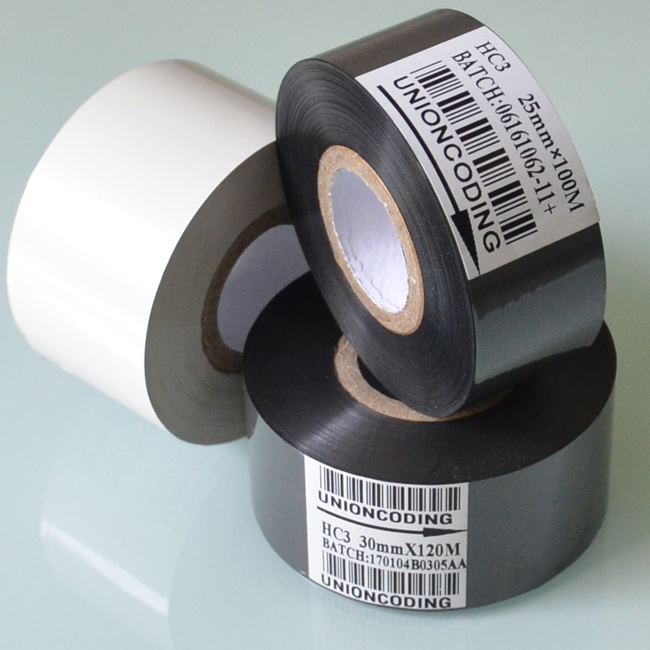 HC3 Type 30mm Width 120M length Black Hot ink ribbon