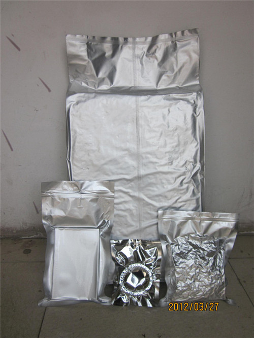 Vaccumed moisture and oxygen barrier foil bags