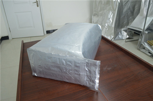 3D barrier foil bags material combinations