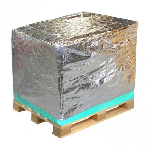 High barrier foil pallet cover