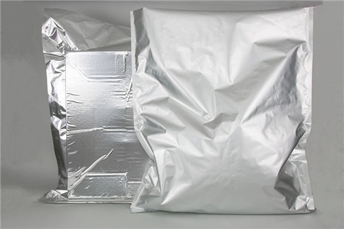 Oxygen and moisture barrier foil bags