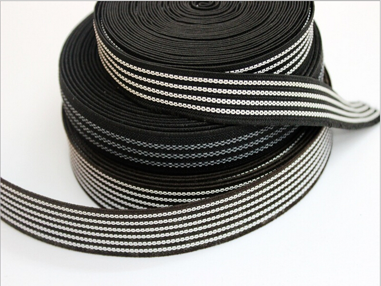 High quality anti-slip elastic band with rubber