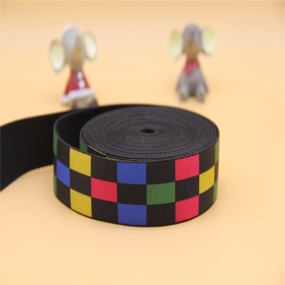 3.2cm custom printed underwear elastic tape