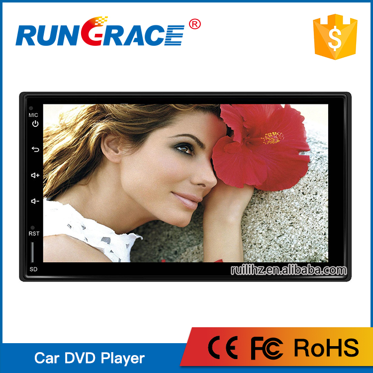 Rungrace double din Android 6.0 universal car radio