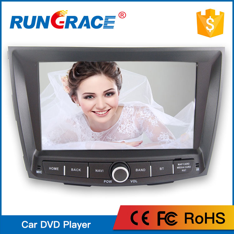 China Rungrace double din Android 6.0 universal car radio For Ssangyong Tivoli