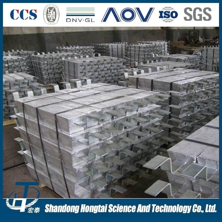 high potential cast magnesium alloy anode