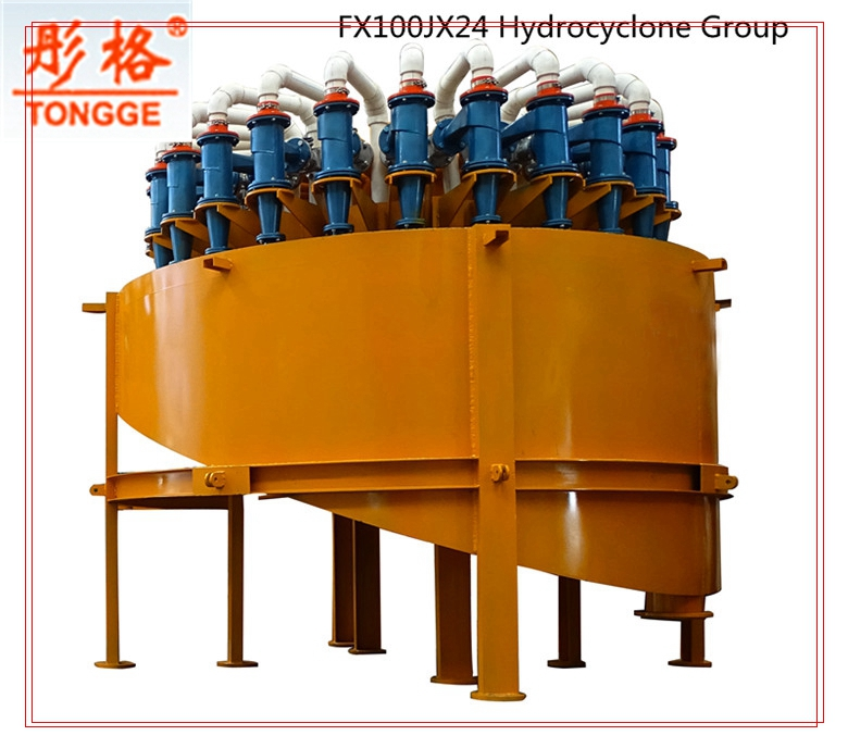 High efficiency Hydrocyclone group price