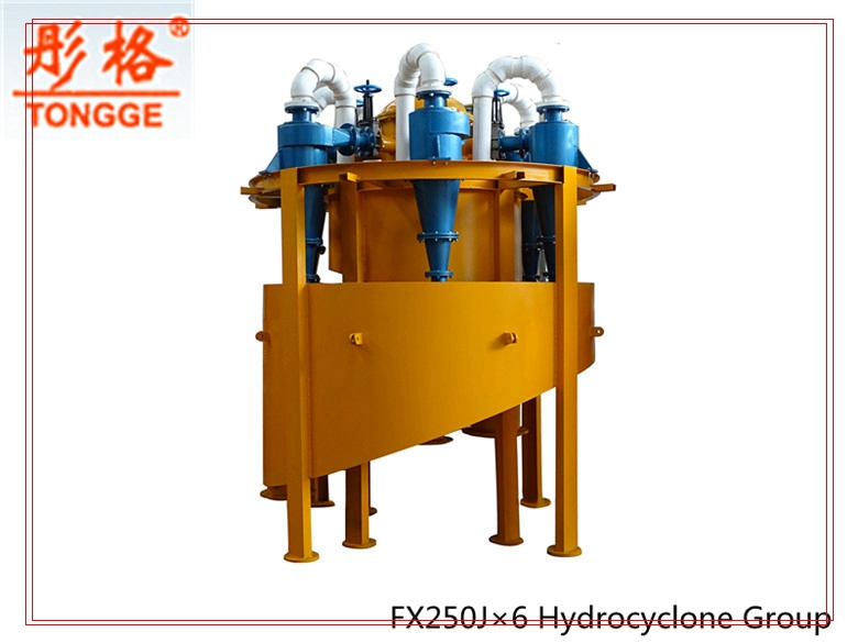 Classifying equipment TONGGE dewatering cyclone