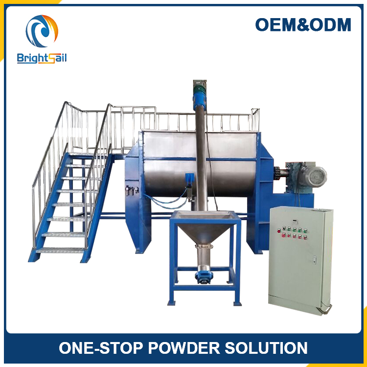 Powder/Feed/Chemical/Food Spiral Horizontal Ribbon Mixer Machine / Blender Mixer