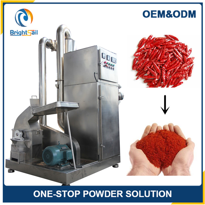 Hot Pepper Grinding Machine/Red Chili Grinder/Black Pepper Grinder Machine