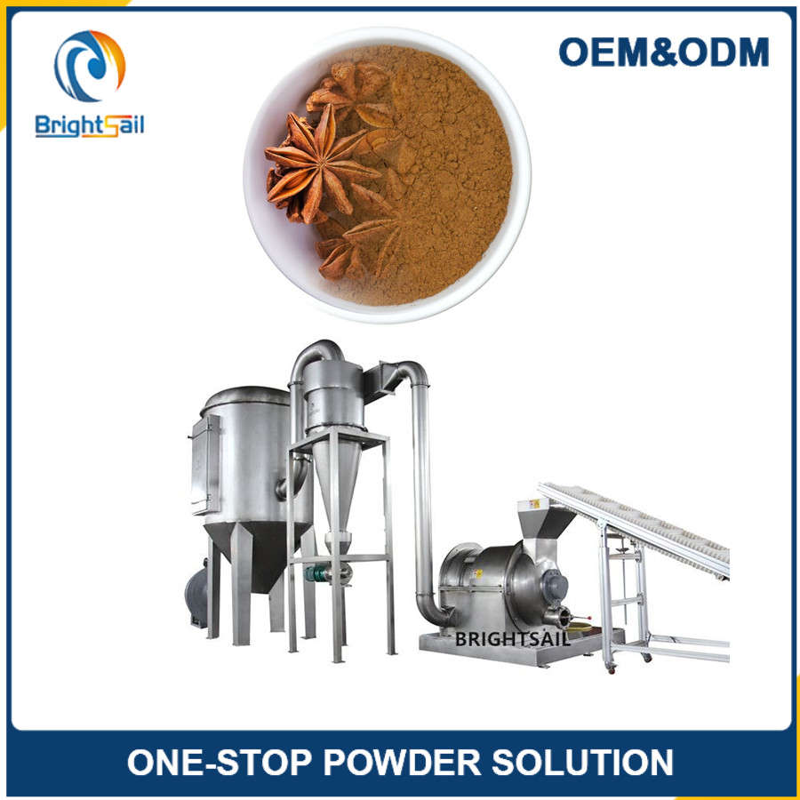 New Automatical spice grinding machines sale for spice powder