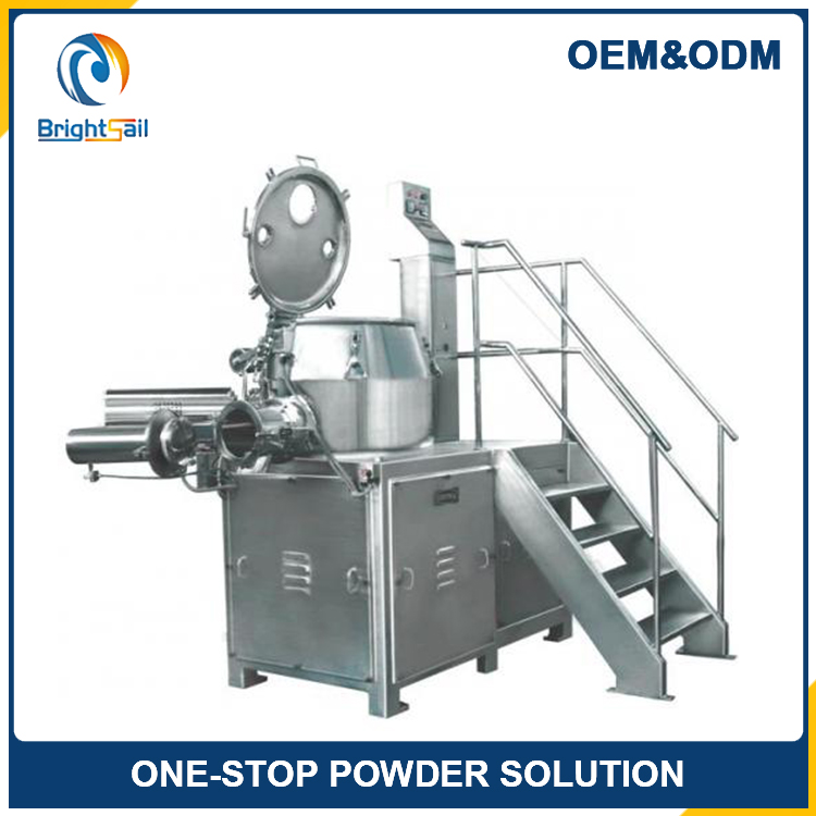HLSG Series High Efficient Damp Mixing Granulator in Jiangyin