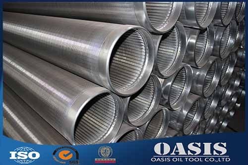 Manufacture Stainless Steel Wedge Wire Pipe Cylinder