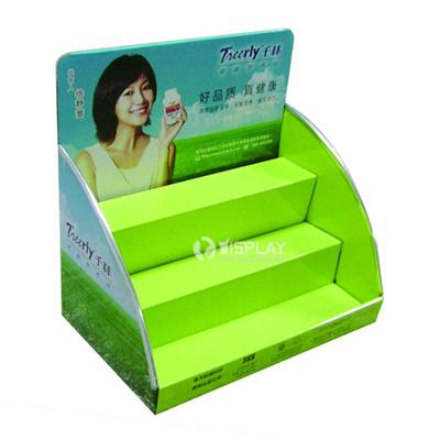 Paper Counter Shelf Display Stands for Medicine