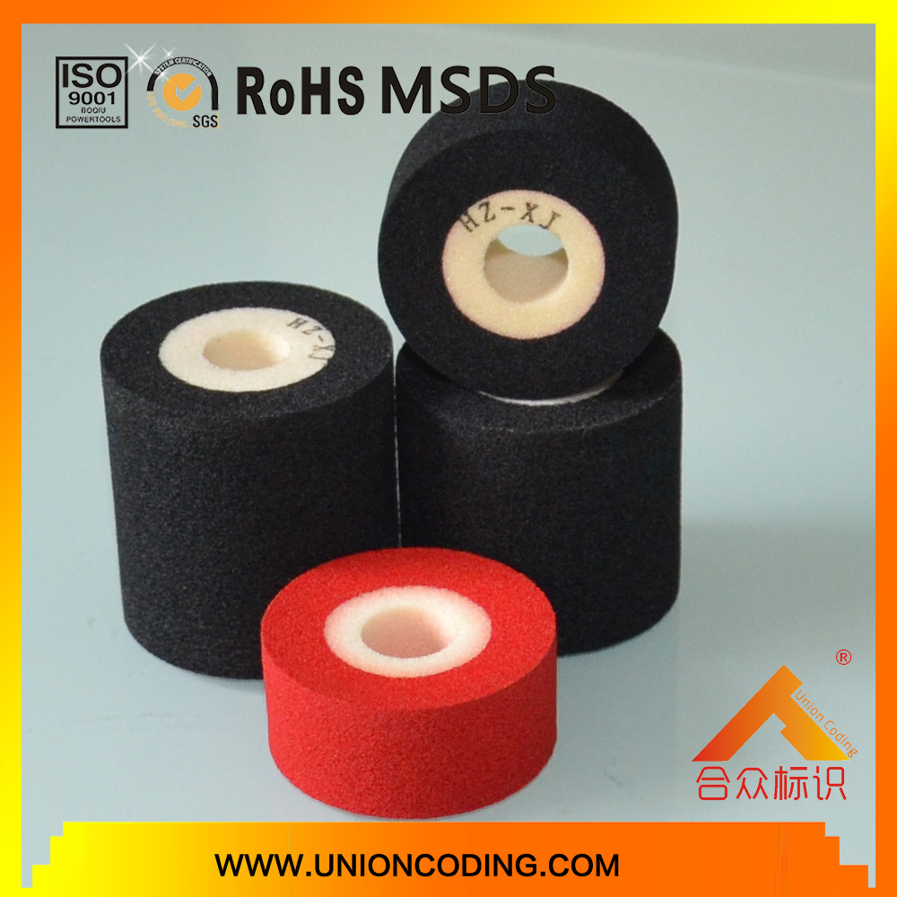 Diameter 36mm Height 12 Black HZXJ type Thermal ink indate