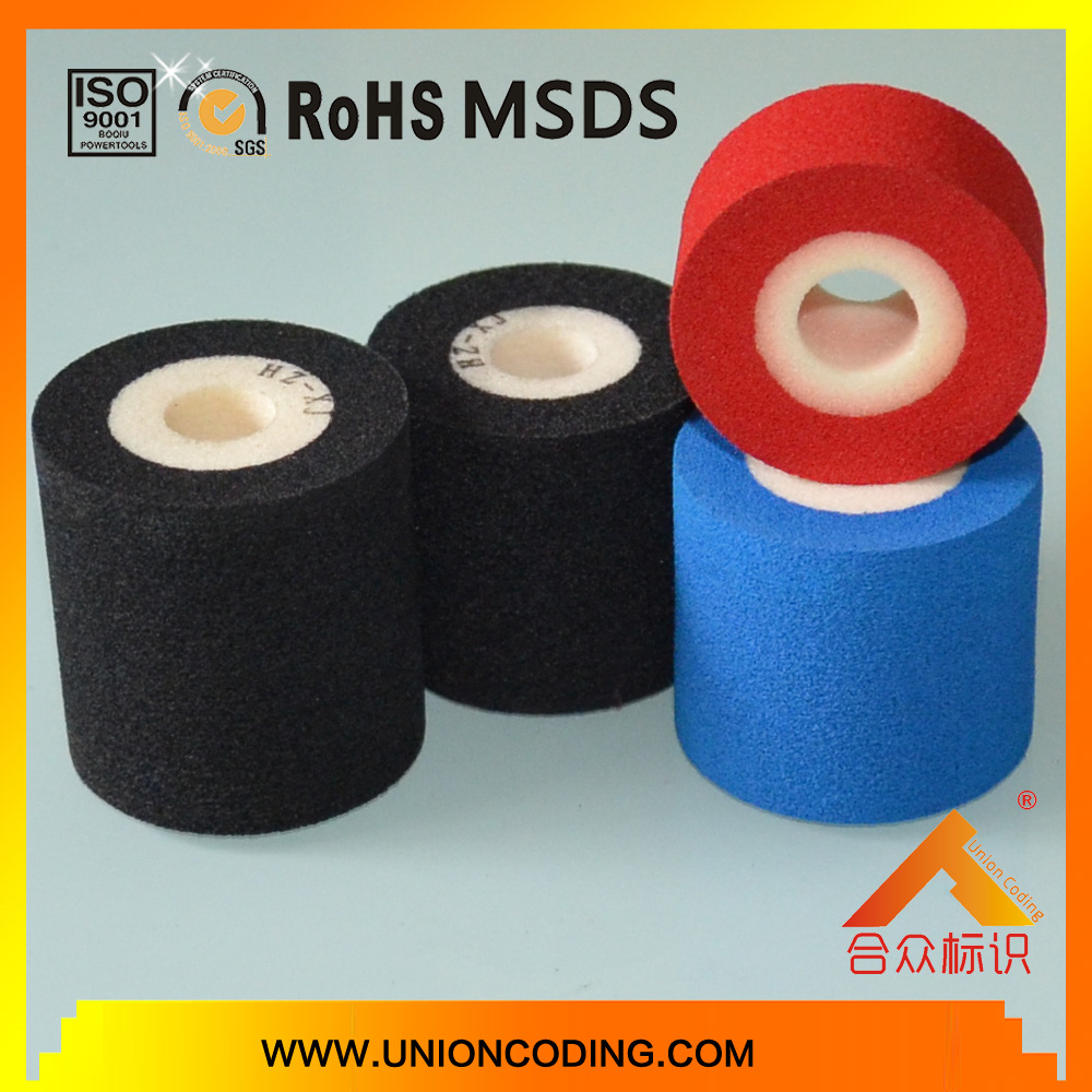 Diameter 36mm Height 40 Black HZXJ type Hot solid ink roller