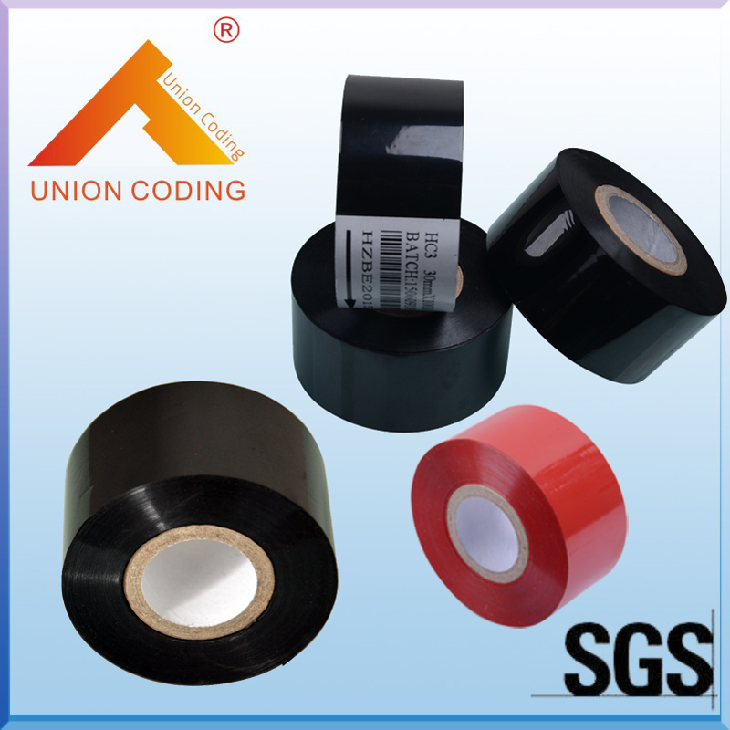 HC3 Type 30mm Width 120M length Black Ink thermal transfer ribbon