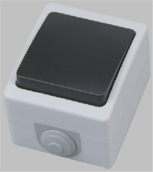 IP54 1 gang 1 way screwless terminal switch