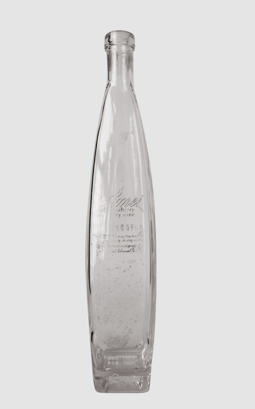 500ML glass bottle with LOGO decal