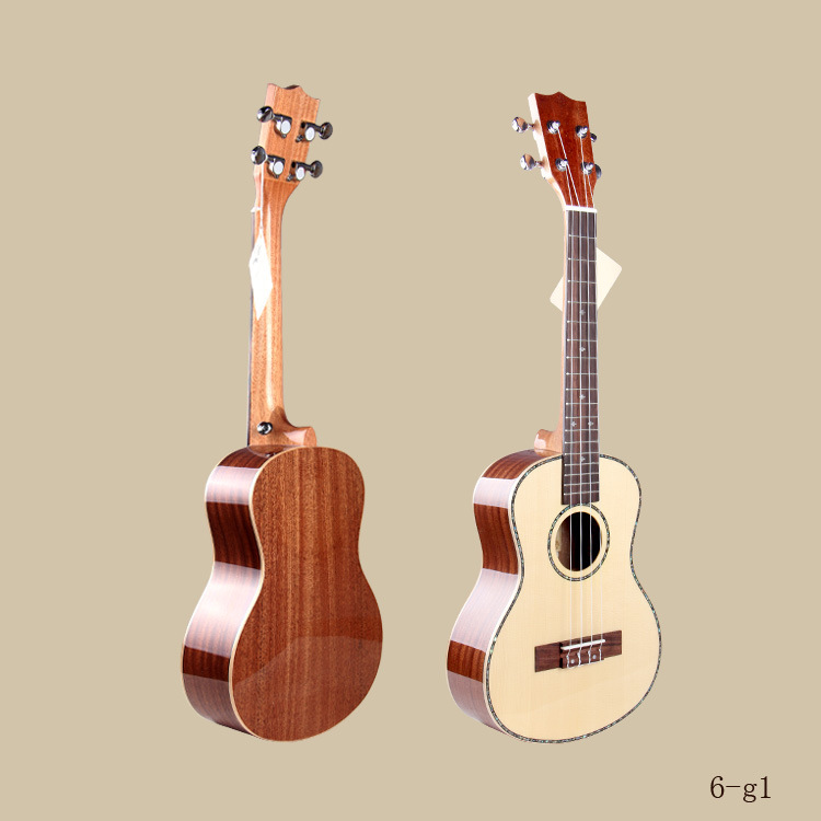 wholesale baby wooden toy guitar, genuine wooden guitar/ukulele for children