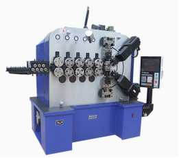 6 Axles High Speed Compression Spring Forming Machine for 3.0mm~10.0mm wire