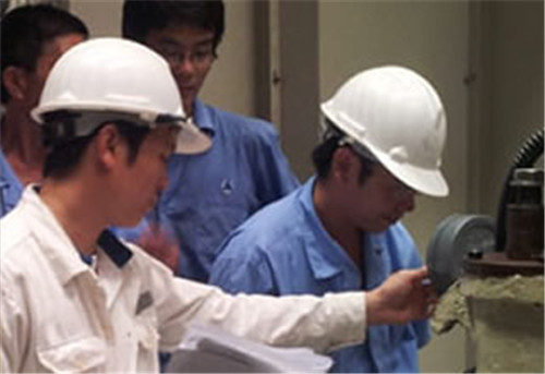 Professional training service for power plant operation and maintenance
