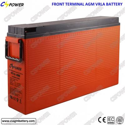 High Quality 12V200ah Telecom Battery Front Terminal Battery Ft12-200