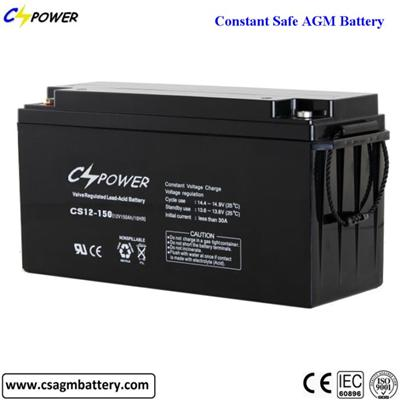 Maintenance off Lead Acid 12V 150Ah Battery for Security System