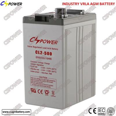 2V 500ah Deep Cycle SMF Battery With Ce ISO Cl2-500