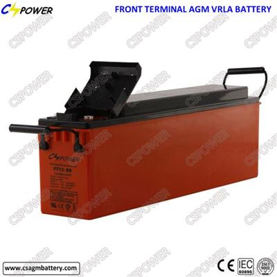 Long Life Front Terminal 12V80ah VRLA Rechargeable Battery - Npf80-12