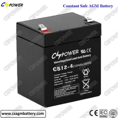 Security or Emergency Power System 6V4Ah Solar Battery
