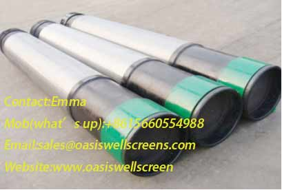 Manufacture Perforated Screen with Screen Jacket Pipe Based Screen