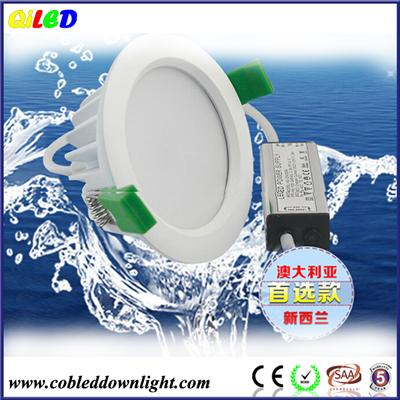 Ceiling recessed waterproof bathroom led light fixture,8W IP65 LED Downlight