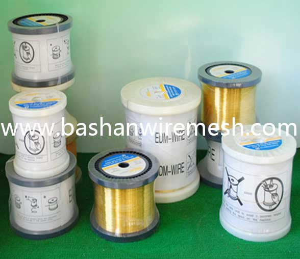 China Bashan EDM copper wire Factory hard medium hard and soft EDM brass Wire