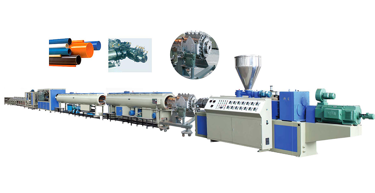 UPVC PIPE PRODUCTION LINE