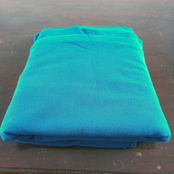 100%cotton 200g Single bead mesh fabric fabric used for women fashion polo shirts &sportwear