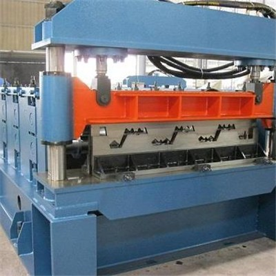 Open Type Decking Floor Roll Forming Machine